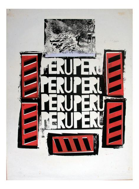 , 'Perú Perú,' 1987, Herlitzka + Faria