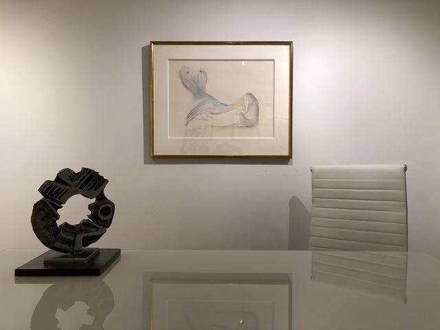 Leonora Carrington, 'Woman with Bird', 1973, Maximilian Contemporary