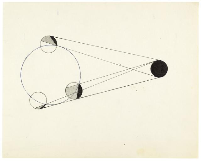 , 'Konstellation am 17.12.82 von drei Personen,' 1982, Galerie nächst St. Stephan Rosemarie Schwarzwälder