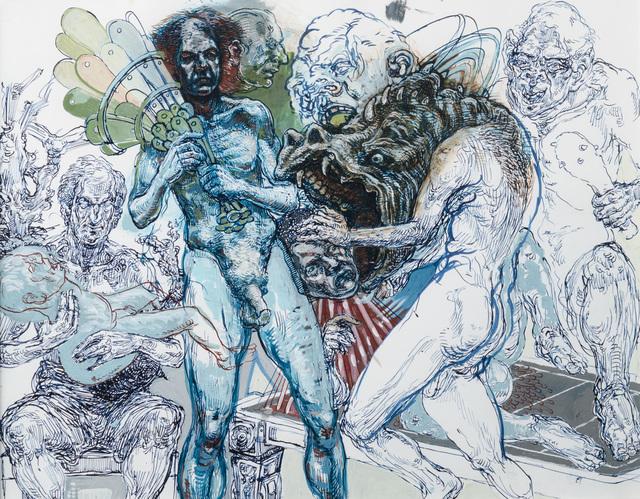 , 'Fat Dancer,' Contemporary, Hieronymus
