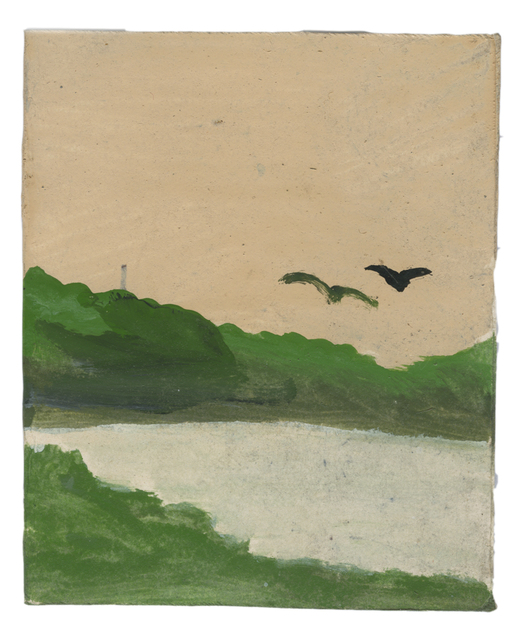 , 'Landscape Series: Two Birds Flying over a Bay,' , Ingleby Gallery