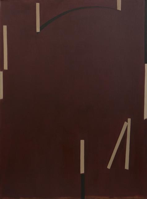 , 'Dark Red #1,' 2018, Eli Klein Gallery