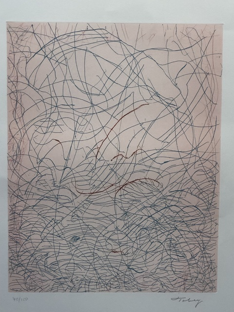 Mark Tobey, 'Morning Grass', 1975, Anders Wahlstedt Fine Art