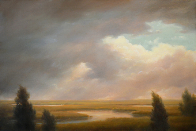 , 'Passing Clouds Over the Marshes,' 2018, Carrie Haddad Gallery