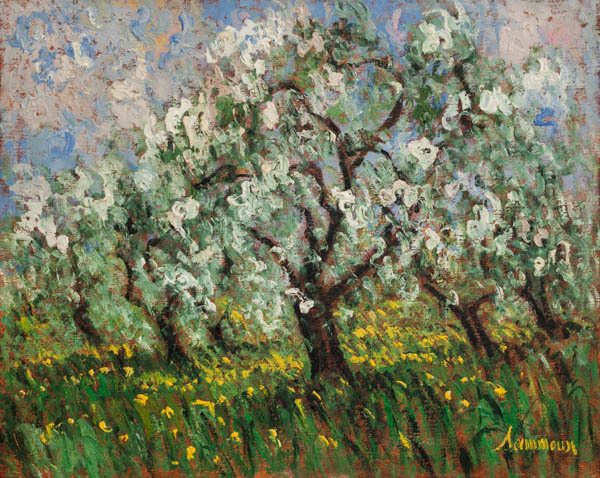 , 'Apple Orchard, Ste. Hilaire,' 2018, Galerie d'Orsay