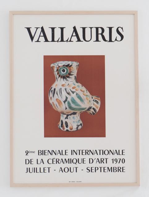 , 'Vallauris  9ème Biennale Internationale de la Céramique d'art 1970,' 1970, BASTIAN