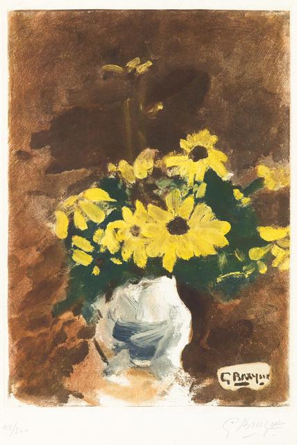 Georges Braque, 'Vase de Fleurs Jaunes (Vase of Yellow Flowers)', 1960, Masterworks Fine Art