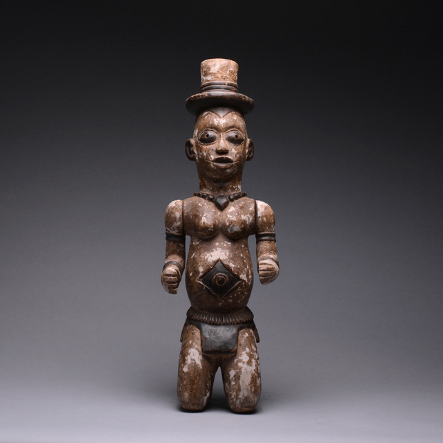 Unknown African, 'Urhobo Edjo or Ancestor Figure with Articulated Arms', 1920 AD to 1960 AD, Barakat Gallery