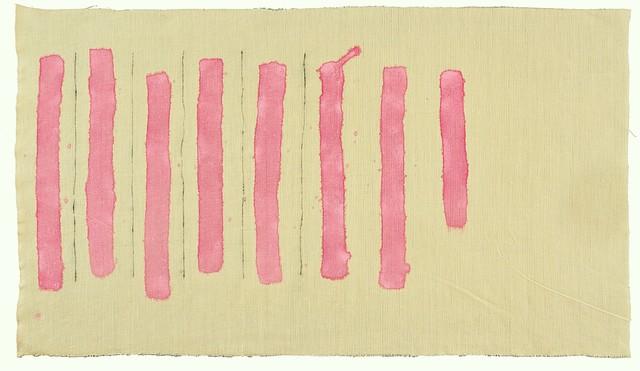 , 'Verticale rosa,' 1977, Luca Tommasi