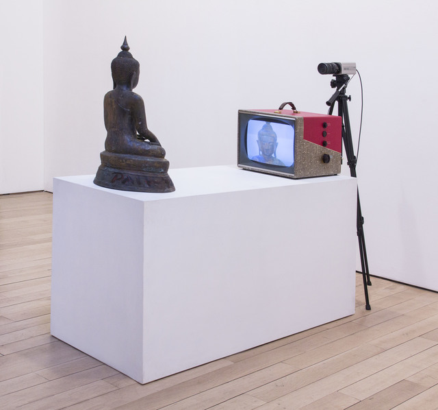 , 'TV Buddha,' 1992, James Cohan