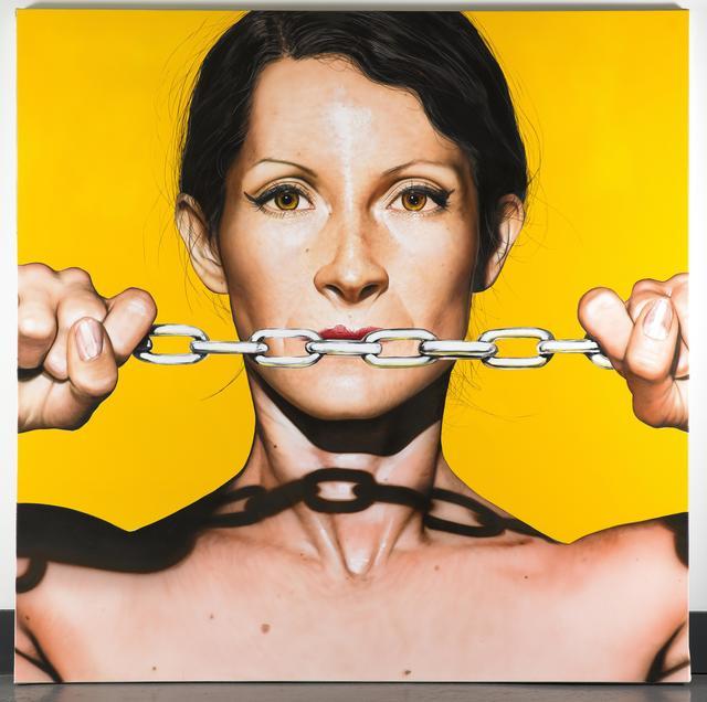 , 'Yellow Chain,' 2016, GALERIE BENJAMIN ECK