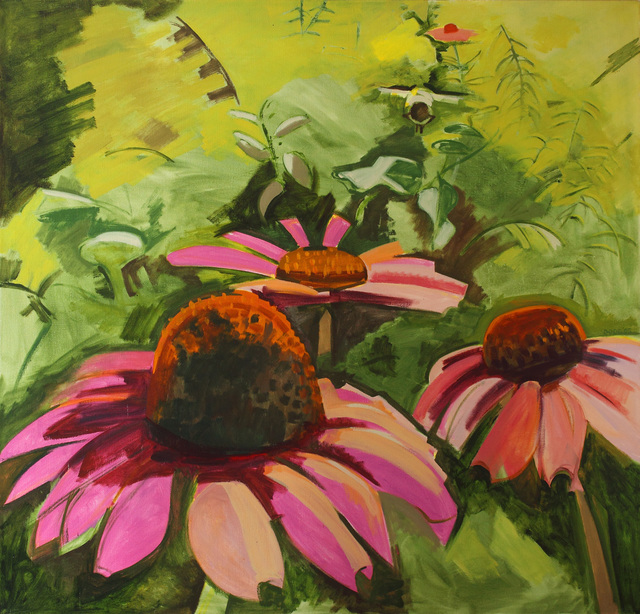 , 'Cone Flowers,' 1995, Alexandre Gallery