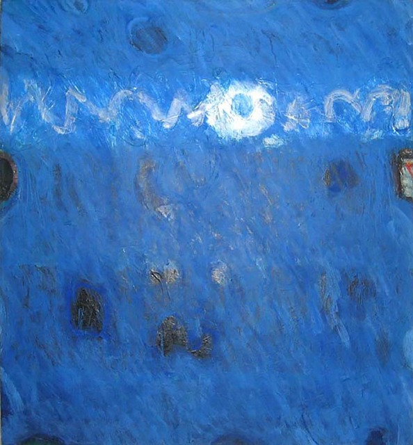 Lawrence Calcagno, 'Blue Painting', 1971, Anita Shapolsky Gallery