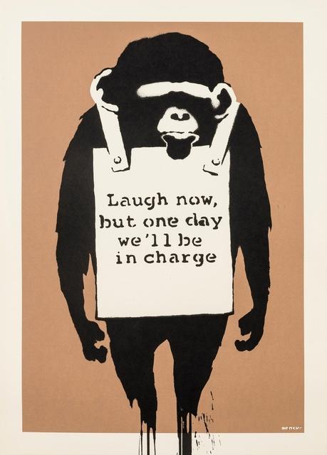 Banksy, 'Laugh Now', 2004, Forum Auctions