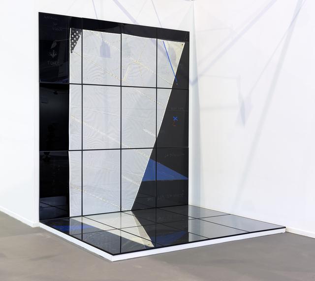 , 'n°3 (voile migrante),' 2018, Michel Rein Paris/Brussels