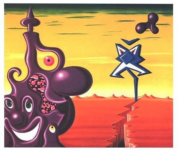 Kenny Scharf, 'Kenny Scharf, Sajippe Kraka ', 1998, Print, Silkscreen, Oliver Cole Gallery