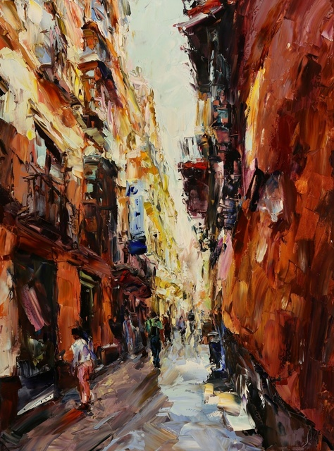 Lyudmila Agrich, 'Streets of Malaga', 2018, Mirada Fine Art