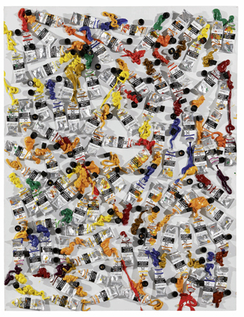 Arman (1928-2005), 'Differences of opinion', 1986, Galerie Heinz Holtmann