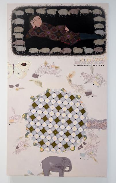 Uuriintuya Dagvasambuu, 'Little Peace', 2020, Painting, Acrylic on canvas, Sapar Contemporary