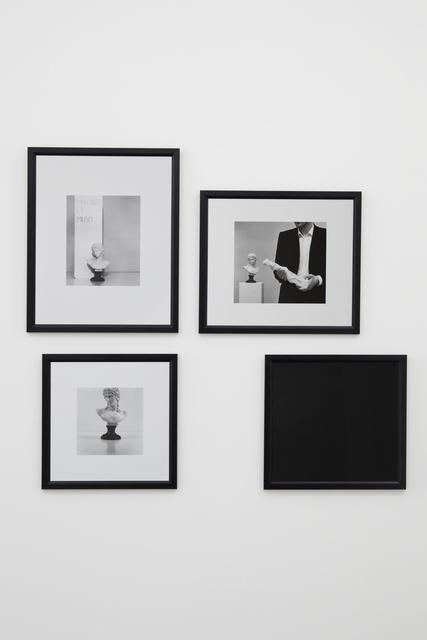 Jan Vercruysse, 'Zonder titel (zelfportretten) XVI', 1981, Vistamare/Vistamarestudio