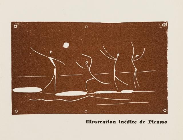 Pablo Picasso, 'Jeu de ballon sur une plage (Baer 1046, Cramer 89)', 1957, Forum Auctions