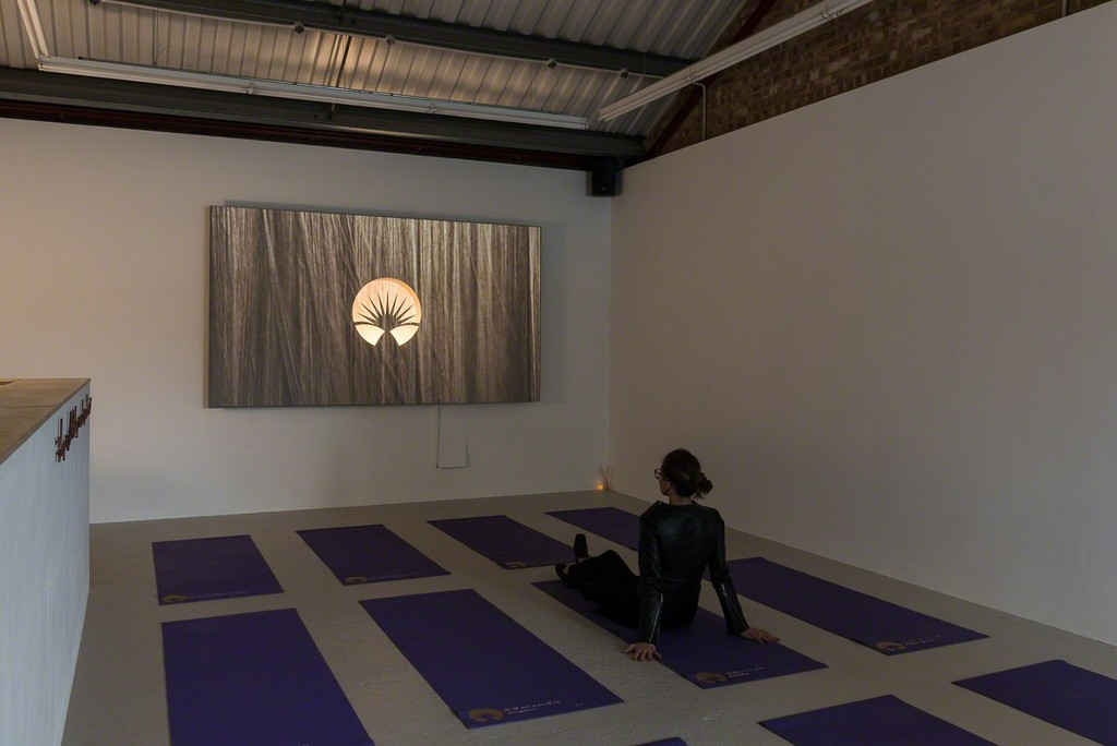 Installation view, Ruth Waters J.A. Generalized Anxiety Relaxation, London 2017 Photo: Annka Kultys Gallery (Damian Griffiths)