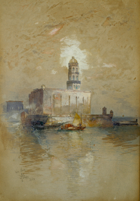 , 'Castle of San Juan d' Ulloa, Vera Cruz,' 1883, ACA Galleries