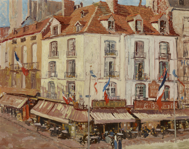 , 'Montmartre,' ca. 1896, Avery Galleries