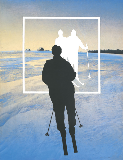 , 'White Skiers,' 1990, Kolodzei Art Foundation