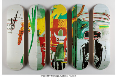 Untitled, set of five skate decks (Open Edition)