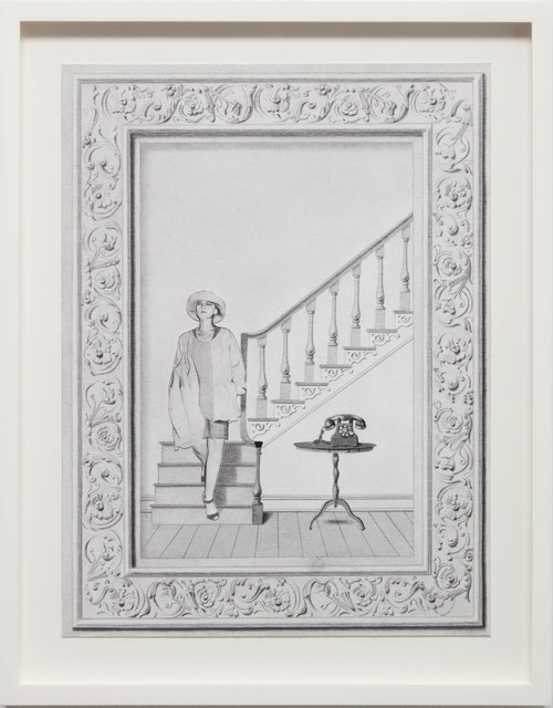 , 'Interior with Staircase,' 2017, Andréhn-Schiptjenko