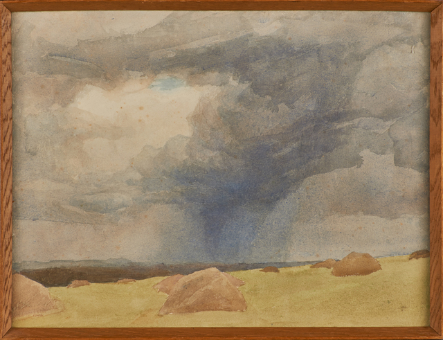 Archibald Knox, 'Kewaig', Painting, Watercolor on paper (framed), Rago/Wright