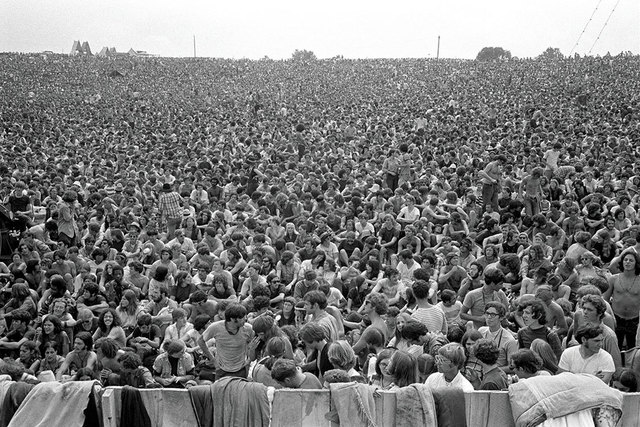 Baron Wolman, 'Woodstock 1969 300000 Strong', 1969, Photography, Archival print, IFAC Arts