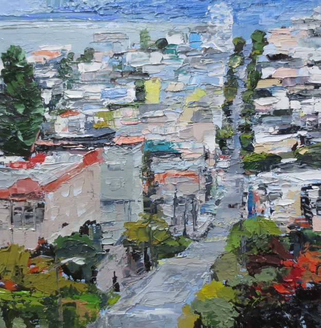 , 'Pacific Heights Study,' 2018, Seager Gray Gallery