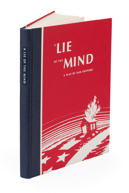 , 'A Lie of the Mind by Sam Shephard,' 1993, Arion Press