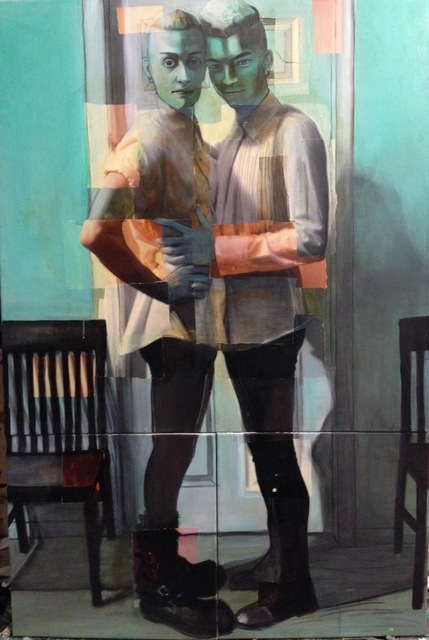 , 'Adam And Eve-ing,' 2015, Hudson Milliner Art Salon