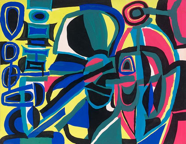 , 'Untitled,' ca. 1955, GALERIE ANTOINE LAURENTIN