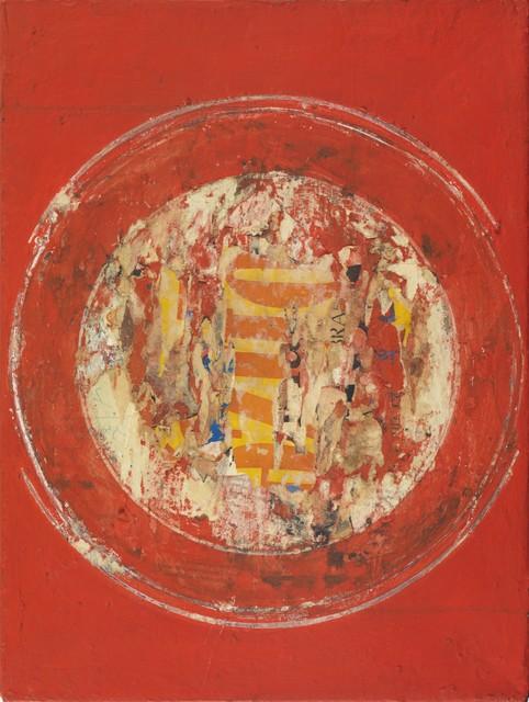 Reinhold Koehler, 'Plakat-Décollage', 1959, Mixed Media, Mixed media on canvas, Whitford Fine Art