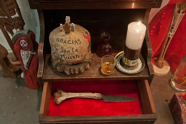 , 'San La muerte Sanctuary,' 2014, Militantes