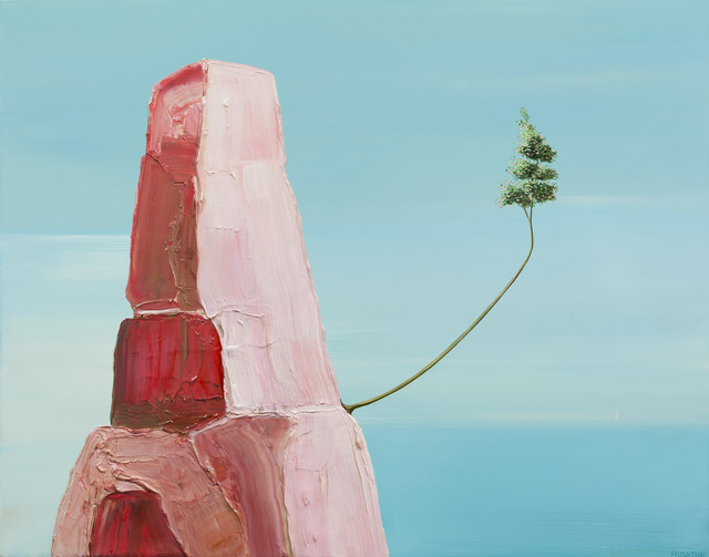 , 'Tree by the Shore #4,' 2014, Richard Levy Gallery