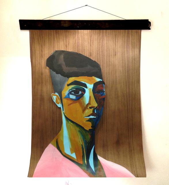 , 'Retrato,' 2016, Machete