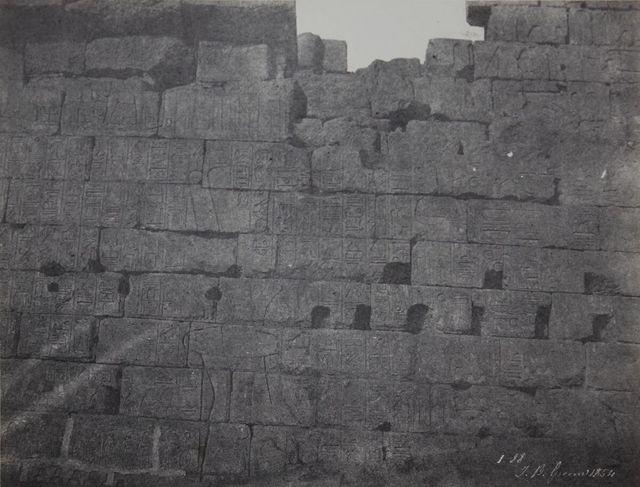 John Greene, 'Voyage dans la Haute Egypte et la Nubie, Karnak', 1854, James Hyman Gallery