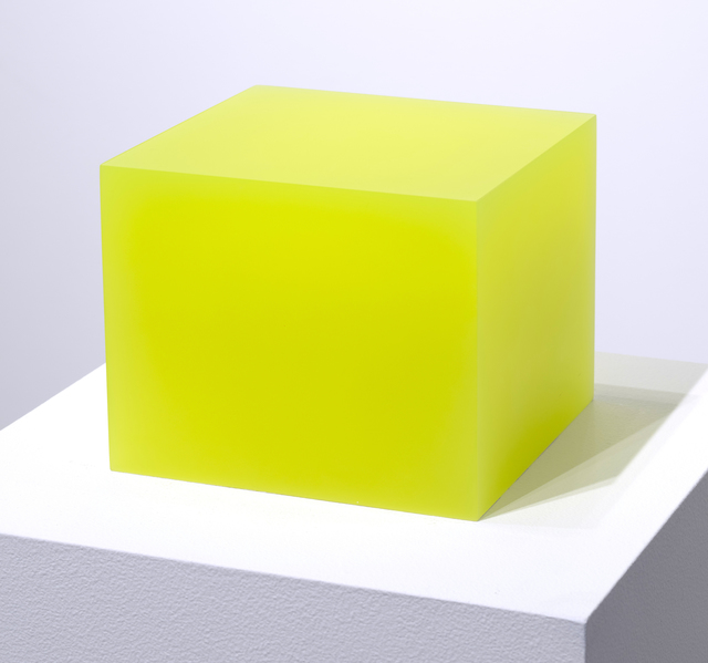 , '5/1/12 Flo Yellow Block,' 2012, Brian Gross Fine Art