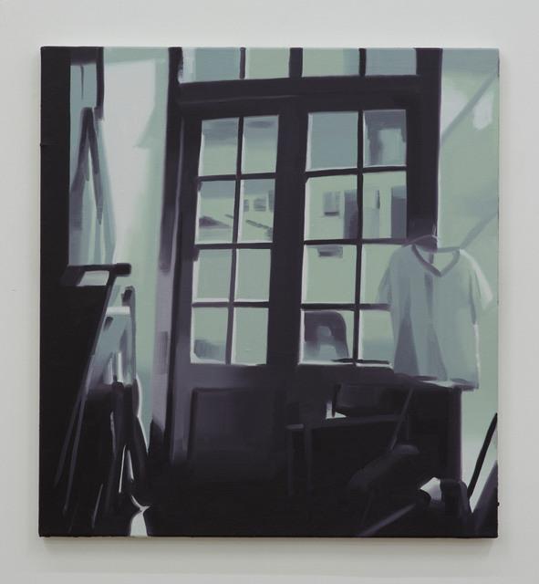 , 'Studio Doors,' 2016, David Risley Gallery