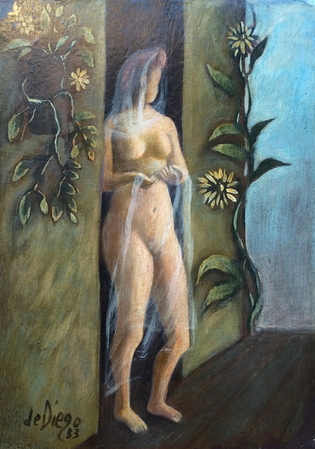 , 'Nude in Doorway,' 1933, Caldwell Gallery Hudson