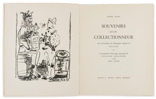 Pablo Picasso, 'Les Saltimbanques (from Souvenirs d'un Collectionneur) (Cramer Books 99)', 1959, Forum Auctions