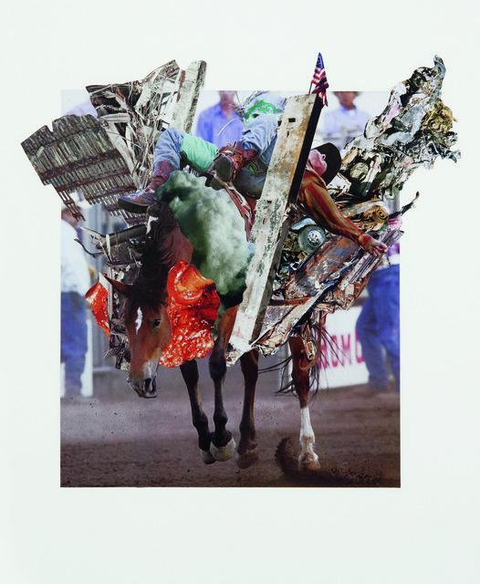 Ashkan Honarvar, 'Rodeo 25', 2011, International Collage Center