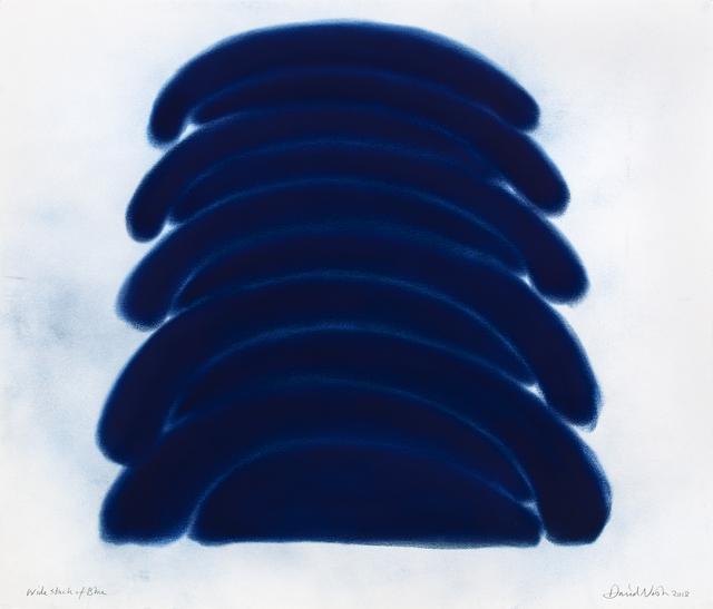, 'Wide Stack of Blue,' 2018, Galerie Lelong & Co.