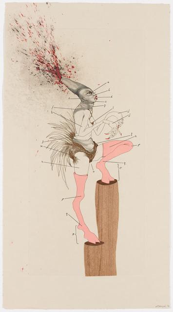 Wangechi Mutu, 'The Original Nine Daughters ', 2012, Pace Prints