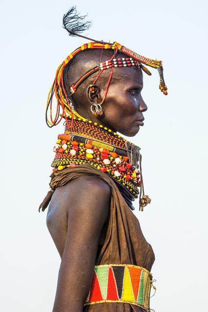 , 'Turkana Female Elder, Kenya,' 2014, THK Gallery